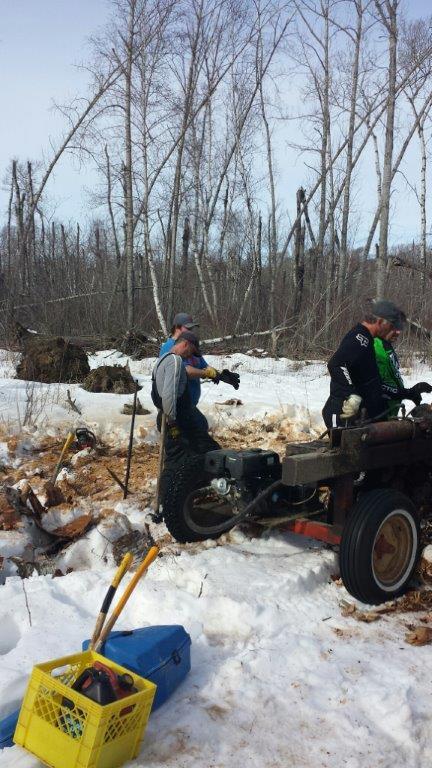 South Shack Wood Cutting